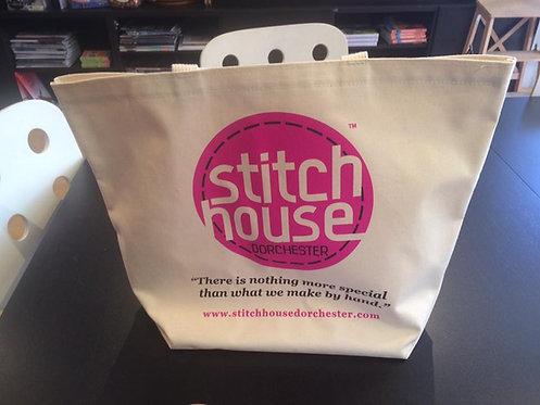 Stitch House Tote Bag