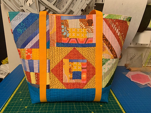 Quilted Tote Bag Sewing Class