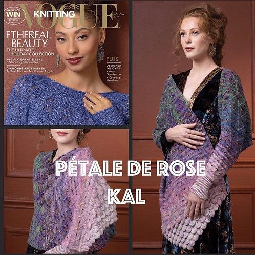 Petale De Rose Wrap KAL 2pack Koigu Pencil Packs