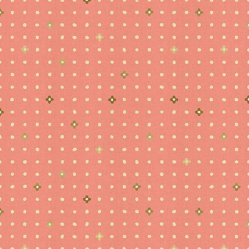 Ohanadotto coral, Cotton & Steel fabric