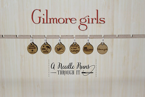 Stitch Markers, Gilmore Girls