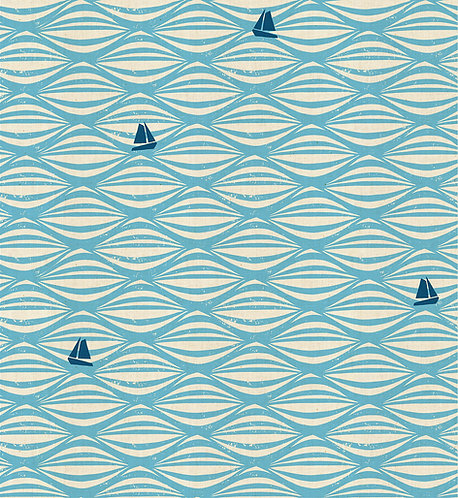 Ahoy, Cotton & Steel fabric