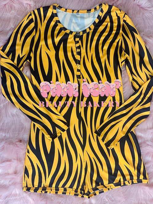 Eye Of The Tiger Onesie