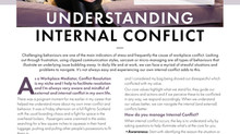 Absolutely delighted to be featured in the April issue of COACH magazine discussing inner conflict!