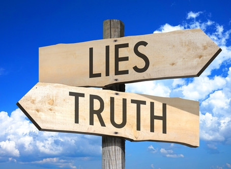 Accusations, blame and getting past the lie!