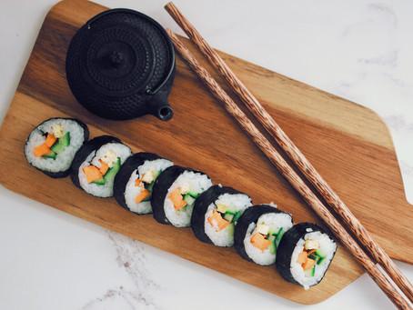 Vegan Tofu Veg Maki