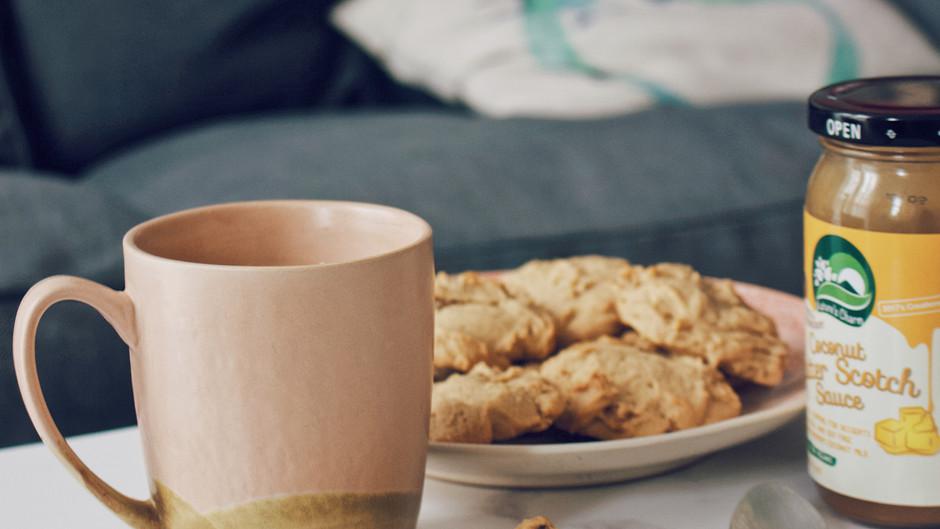 Butterscotch Walnut Cookies