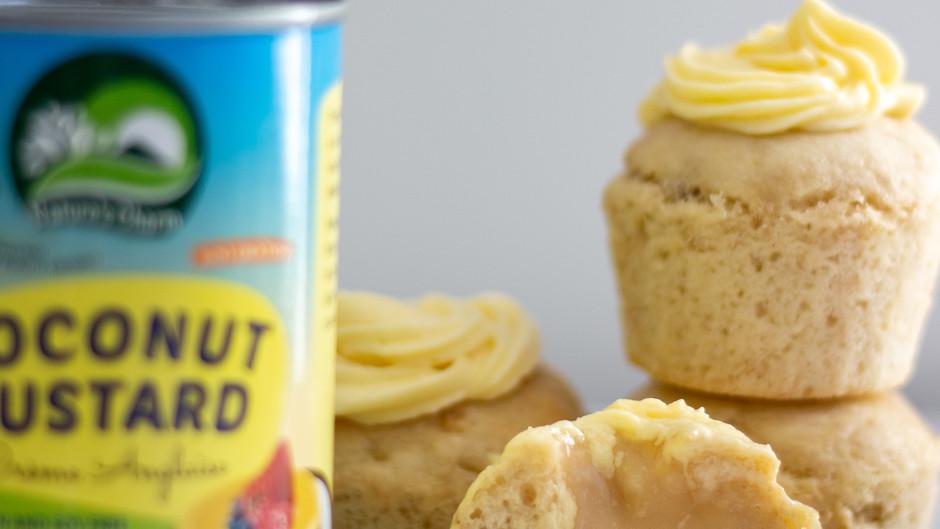 Bananas and Custard Muffins
