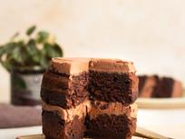 Easy Vegan Chocolate Layer Cake