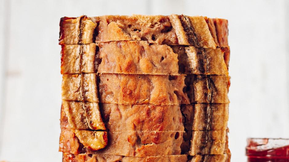 PB+J Banana Bread: (Peanut butter + Jam)