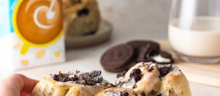 Cookies & Cream Buns (vegan)