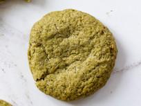 Matcha Tahini Cookies