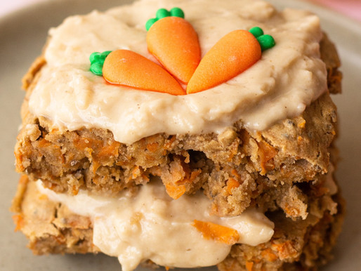 Single Serve Carrot Cake (Vegan, Sugar & Gluten Free)