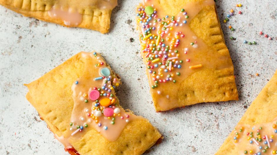 Peanut Butter Jelly Pop Tarts (Vegan)