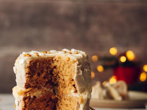 Gingerbread Christmas Cake (vegan)