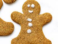 Gingerbread Men (gluten-free option)