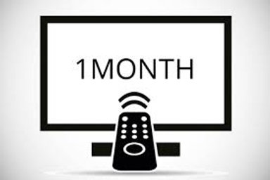 1 Month IPTV Service