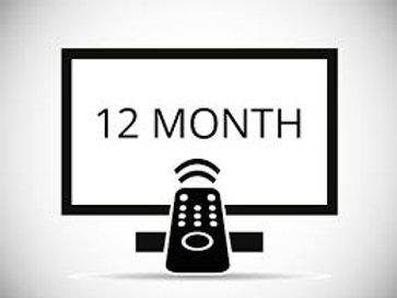 12 Months IPTV Service