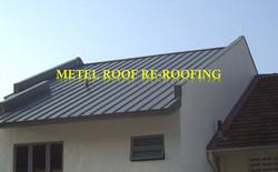 METAL ROOF RE-ROOFING
