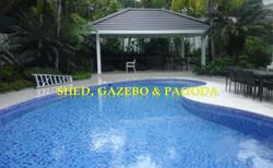 SHED, GAZEBO, PAGODA, SHINGLE