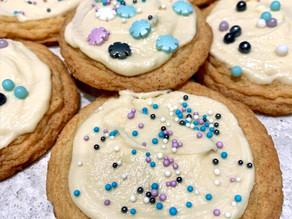 Sugar Cookies & Creamy Vanilla Icing!
