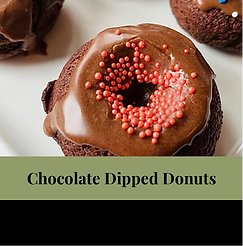 July 21 -Chocolate Dipped Donuts- 16 Pla