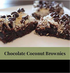 July 21 -Chocolate Coconut Brownies - 16