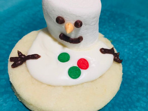 Melted Snowman Sugar Cookies!