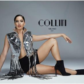 Natalia Barulich è il nuovo volto di Collini Milano