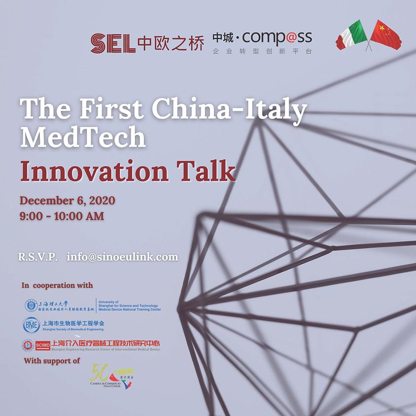 First China- Italy MedTech Innovation Talk