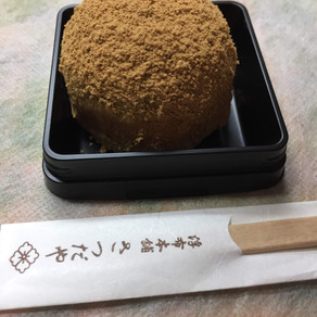 季節の生菓子_わらび餅