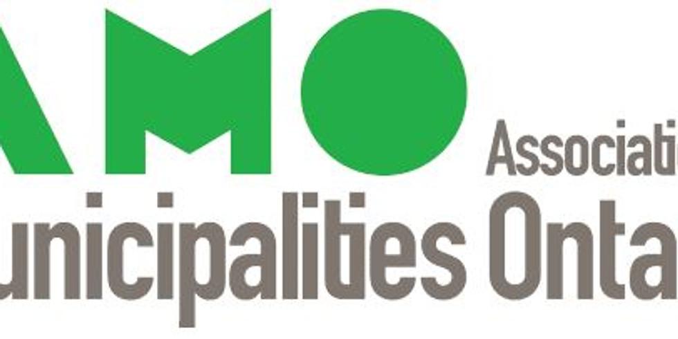 Municipal Electronic Recordkeeping. Free registration for Municipalities/AMO Members
