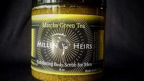 BODY SCRUB - Eucalyptus Mint Matcha Green Tea