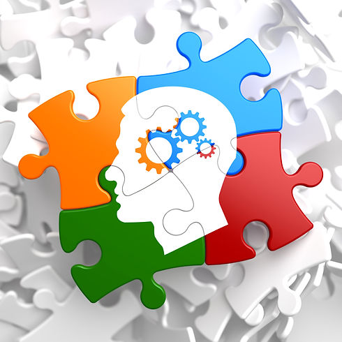 Psychological Concept on Multicolor Puzzle..jpg