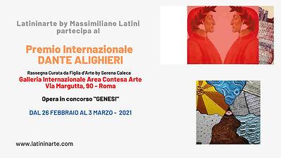 premio dante alighieri a roma in via margutta presso la galleria internazionale area contesa arte