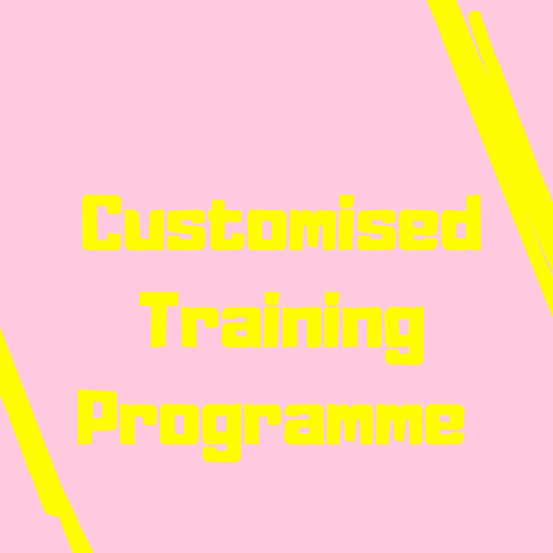 Customised Training Programme - Available On Request
