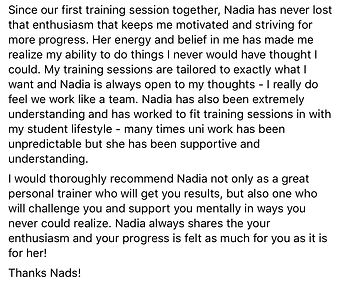Personal Training Glasgow Review