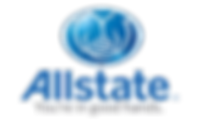 Allstate Logo, One of the largest insurance providers in the U.S. and one of the largest that is publicly held.