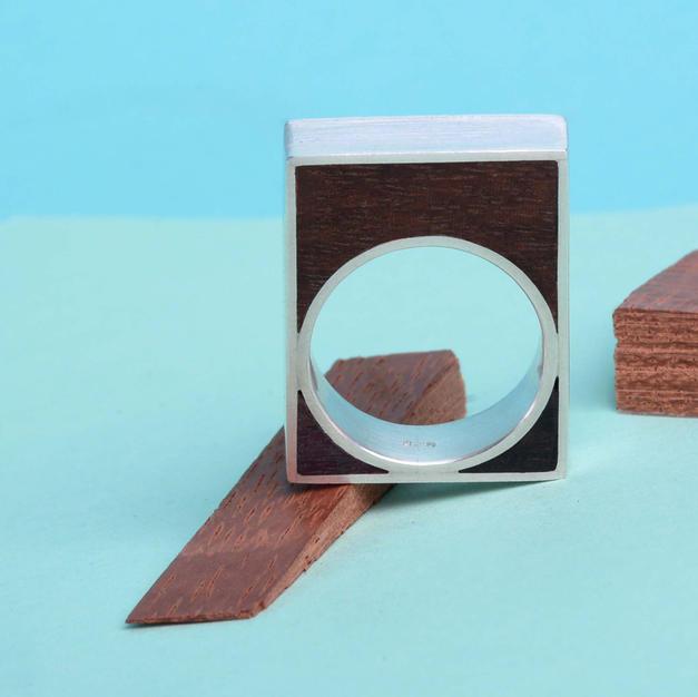 925 + Wood