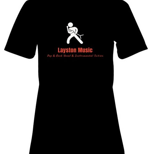 Layston Music Soft T-Shirt in Black