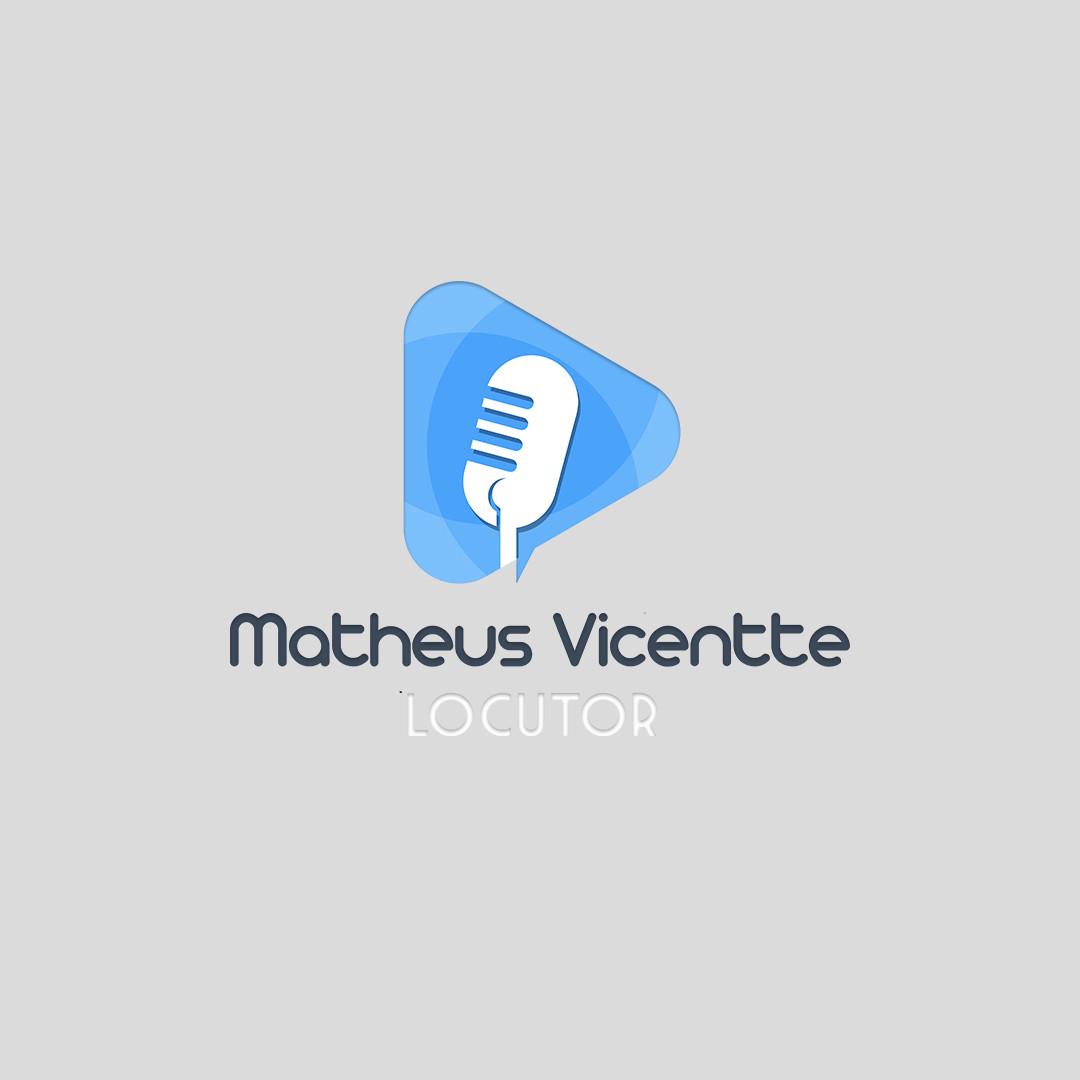 Logo Matheus Vicentte Locutor