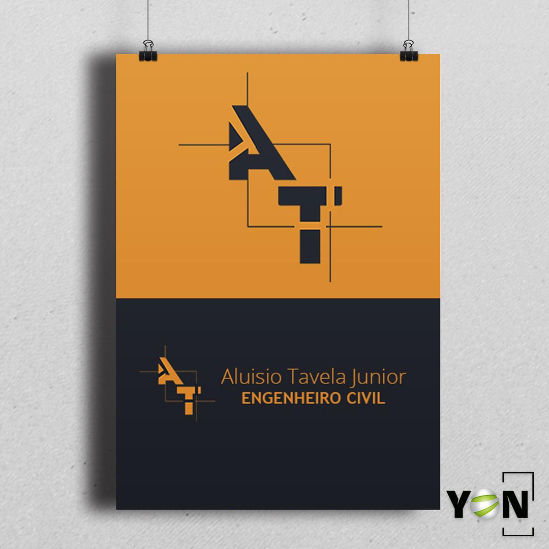 Logo Aluisio Tavela Engenheiro Civil