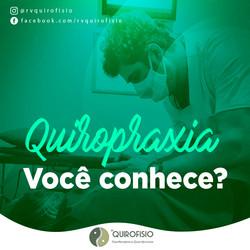 Quiropraxia, você conhece