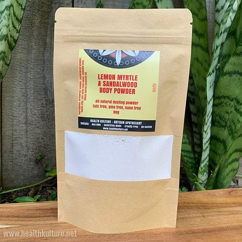 Lemon Myrtle & Sandalwood Body Powder Refill
