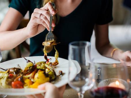 Méditez en mangeant... bon pour la langue, pour l'estomac et la silhouette!
