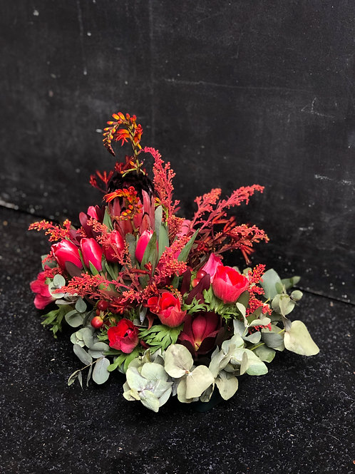 Custom Bouquet - Firey Red