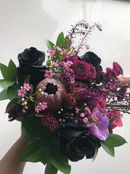 Custom Bouquet - Black Magic