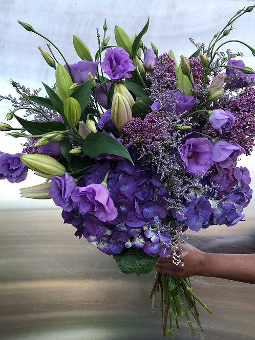 Custom Bouquet - Purple Rain