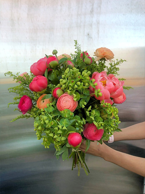 Custom Bouquet - La Vie en Rose
