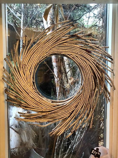 """21"""" Twig Wreath"""